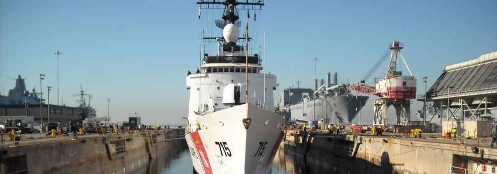 Coast Guard Ship Banner